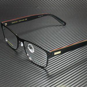 Gucci Black Brown 55mm Eyeglasses